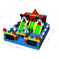 Quality Commercial Grade Fun City Inflatables Castle Jumping Bouncer Combo 7X6X4.2m for sale