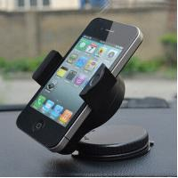 Best Black ABS Flexible Smartphone Holder / Universal Cell Phone Holder wholesale