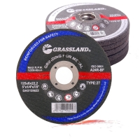 Quality 125x6.4x22 MM resin bonded grinding wheel for polishing and grinding carbon steel for sale