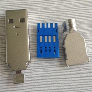 Best USB AM 3.0 Male Solder type Connector wholesale