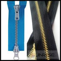 Quality High quality YKK #5 antique brass metal zipper Y teeth two way open for sale for sale
