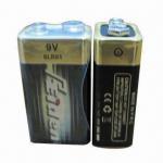 Quality 6LR61 9V 1-piece Shrink Pack Alkaline Battery, No Leak and Exploration for sale