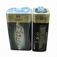 Buy cheap 6LR61 9V 1-piece Shrink Pack Alkaline Battery, No Leak and Exploration from wholesalers