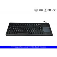 Best Rugged Plastic Industrial Keyboard With Function Keys And Integrated Touchpad wholesale