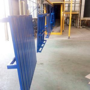 Quality High Efficient Stackable Steel Pallets , Stackable Storage Racks  Convenient for sale