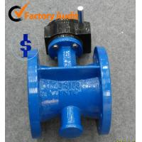 Quality Gear Center Line Flange Butterfly Valve EPDM , Ductile Iron / WCB / Cast Iron Body for sale