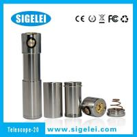Quality Sigelei TELESCOPE 20 24k gold plated spring full mechanical mod China ECIG supplier for sale