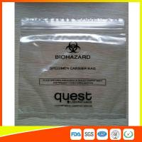 Quality Industrial Reclosable Plastic Specimen Bags , Packaging Zip Lock Bags FDA Approved for sale