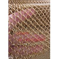 Quality Metal Coil Drapery/Decorative Woven Wire Mesh/Chain Link Curtain Mesh for sale