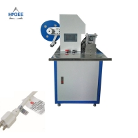 Quality Wood chocolate hammer labeling machine iron wire labeling machine spatul labeling machine for sale