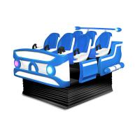 Quality Fiberglass 6 Seats Virtual Reality Cinema , 9D 6 Dof Motion VR Movie Theater for sale