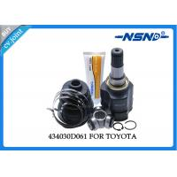 Quality Toyota Auto Cv Joint 434030D061 Universal Dust Proof For Inner Position for sale