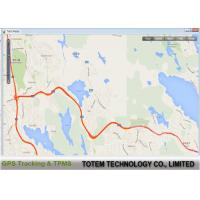 Quality Totem AVL Real Time GPS Tracking Software Multi Reports Language / Map for sale
