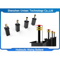 Quality Stainless Steel 24V Hydraulic Rising Bollards Used In Checkpoint , Important Place for sale