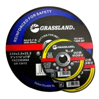 Quality 9 Inch 230x2.5mm Cut Off MPA Angle Grinder Abrasive Wheel For Metal for sale