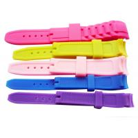 Quality Colorful Silicone Watch Straps Custom Silicone Products Different Size Watch Wristband for sale