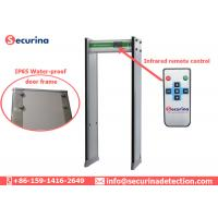 Quality Security Control Archway Metal Detector 7 Inch LCD Display For Mass Events / Public Places for sale
