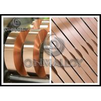 Best 0.005mm~1mm thickness,Power Transformers Pure Copper Strip Elongation Good Corrosion - Resistance,bright surface wholesale