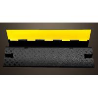 Removable Speed Bumps Single Cable Protection , Recycled Rubber Speed Bumps For Driveway