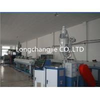 Best PE / LDPE / HDPE Plastic Extrusion Line PLC With Large Diameter wholesale