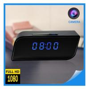 Quality Factory Supply 2018 Hot Selling Digital AlarmClockCCTVCameraFull HD SpyClock WIFI 1080P P2P Network Mini IPCamera for sale
