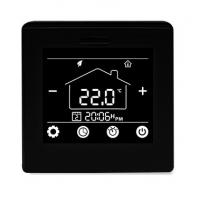 Quality Programmable Underfloor Heating Thermostat 16A With Black / White Color for sale