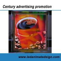 Best Business advertising crystal light box wholesale