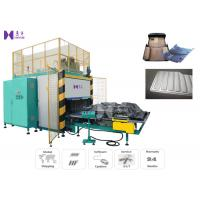 Quality Automatic HF Floor Mat Welding Machine Slide Tray Style 15KW 3-5 Pcs / Min for sale