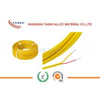 Best 200 Degrees Teflon Insulated Thermocouple Cable Type K 2*0.2mm 500m Roll wholesale