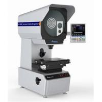 China Vertical Digital Profile Projector Machine With Color Screen on sale