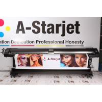 Quality 1.8m Double Sided DX7 Eco Solvent Printer A-Starjet 77802 With Wasatch Software for sale