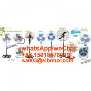 Quality Sibolux all kinds of electric fans manufacturer plastic fan metal fan bladeless fan/ Ventilador De Pie for sale