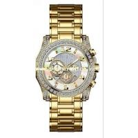 Best Business Stainless Steel Watch with Diamond setting wholesale