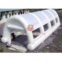 Best White Arches Inflatable Air / Party / Camping Tent Flameproof Non - Toxic wholesale