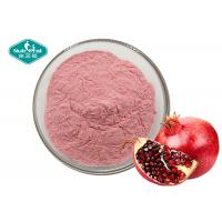 Quality Pomegranate Juice Powder , Freeze Dried Pomegranate Fruit Powder Support Overall Cardiovascular Health for sale