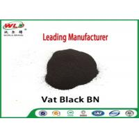 Quality Permanent Vat Dyes Black Bn Wool Fabric Dye Synthetic Organic Dyestuffs for sale