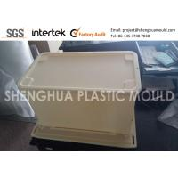 Quality China Large Plastic Polypropylene Box with Lid Prototype and Injection Mold Maker for sale