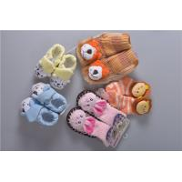 Knitted Slip Resistant Cotton Baby Socks For Keep Warm Custom Made Size