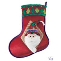 Quality Personalised Christmas Gifts of  Santa Claus Hats and Socks for Adult and Children for sale