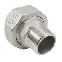 Quality Threaded Pipe Fitting Stainless Steel Casting Conical Union Male Female Union for sale