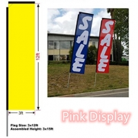 Quality CMYK Advertising Banner Flags for sale