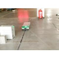 Quality Intralogistics AGV Cart Single Way Rail Guidance Tunnel Tractor for Fabric Industry for sale