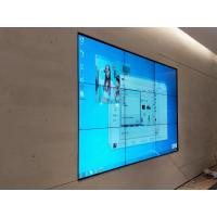 Quality Seamless Narrow Bezel LCD Video Wall HD 4K Resolution Display 55 Inch For Shop Mail for sale