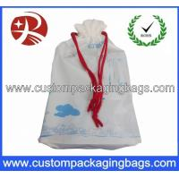 Quality Customised Printed Waterproof Drawstring Plastic Bags For Promotional for sale