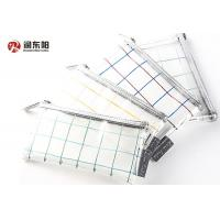 Quality Zipper Clear Pvc Hook Bag Various Colors  Customized Thickness For Pen / Coin for sale