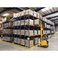 Quality Warehouse  Push Back Racking System  Industrial   First-In-Last-Out Operation Process for sale