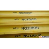 Quality Waterproof Treated H20 Timber Beam , Yellow Timber H Beam For Slab Formwork for sale