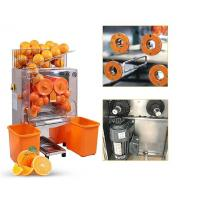Buy cheap Electric Commercial Auto Feed Orange Juice Squeezer Machine , Orange Press from wholesalers