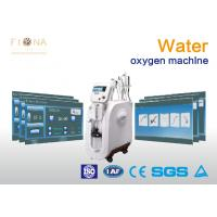 China Water Spray Oxygen Therapy Facial Machine For Skin Tightening Low Noise on sale