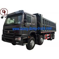 8x4 Drive Type HOWO 12 Wheeler Dump Truck with 11 - 20T Load Capacity